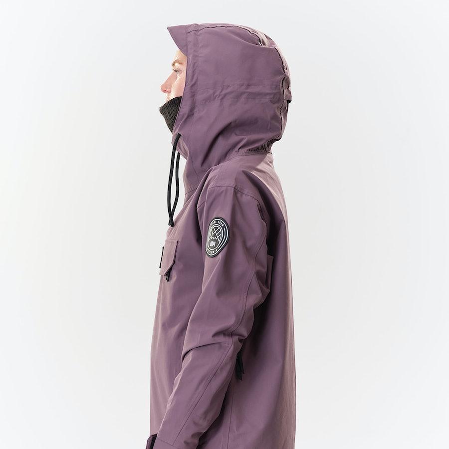 Dope Blizzard PO W Women's Snowboard Jacket Faded Grape