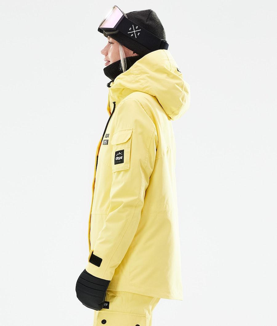 Dope Adept W Women's Snowboard Jacket Faded Yellow