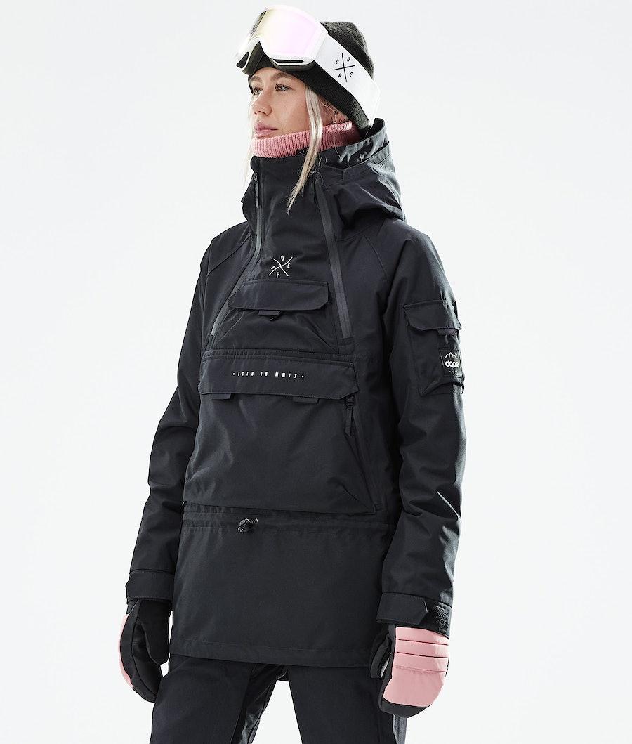 Dope Akin W Snowboardjacke Black