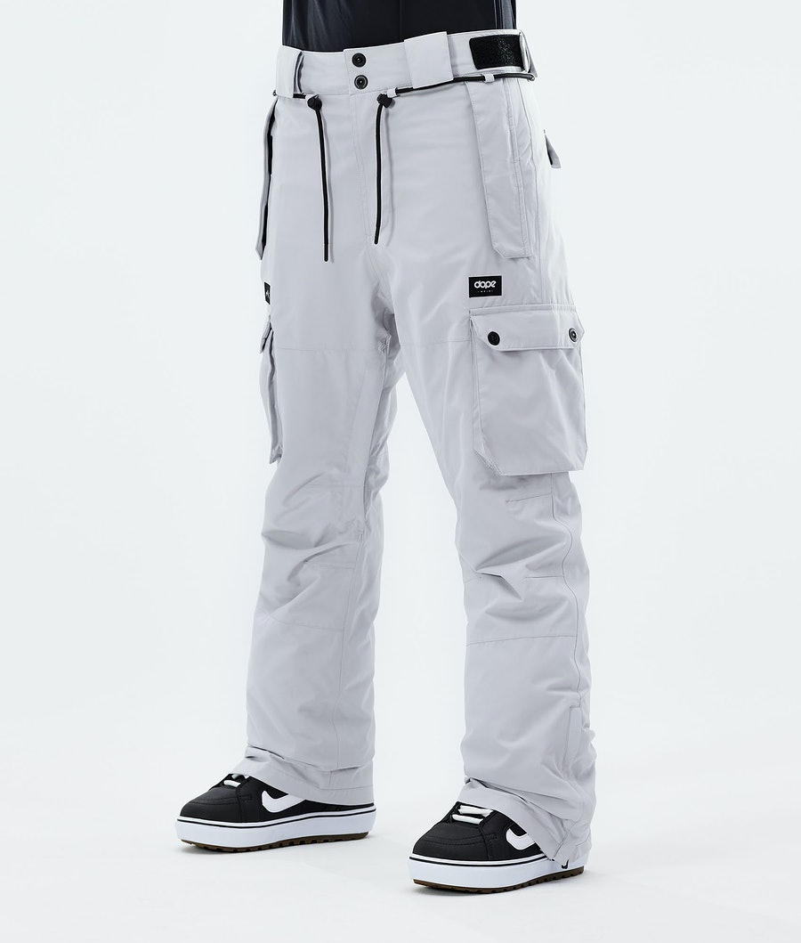 Dope Iconic W Snowboardhose Light Grey