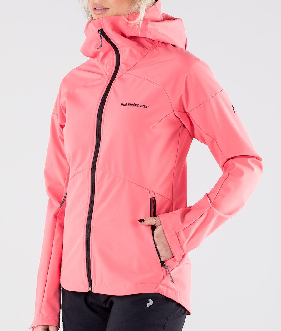 Peak Performance Adventure Hood Women's Outdoor Jacket Alpine Flower