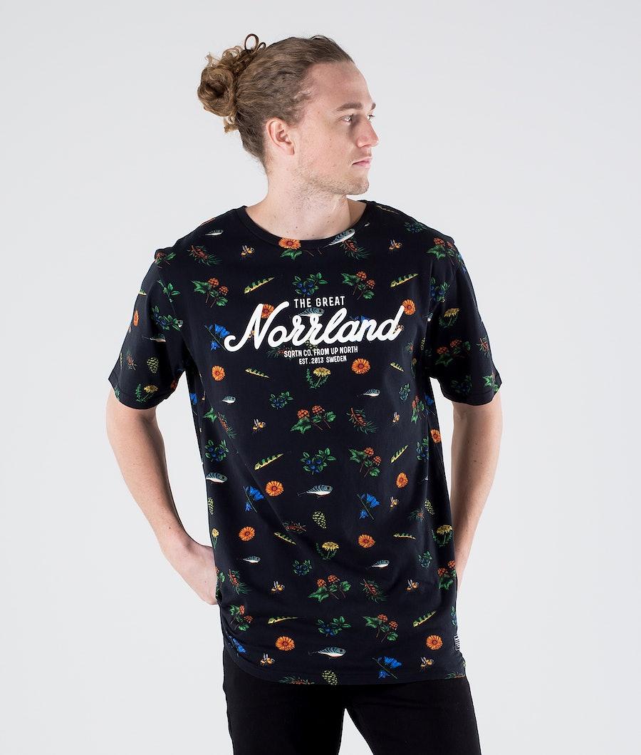 SQRTN Great Norrland T-shirt Best of Black
