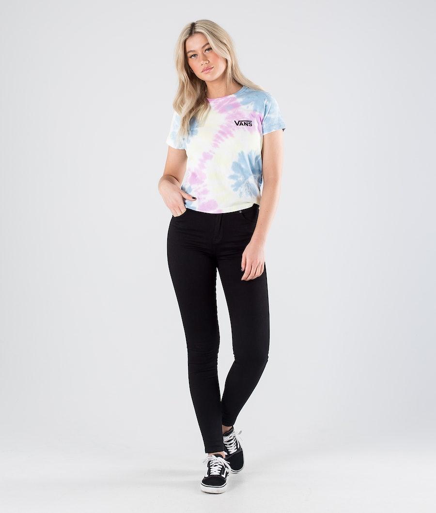 Vans Spiraling Wash Baby T-shirt Dam Orchid