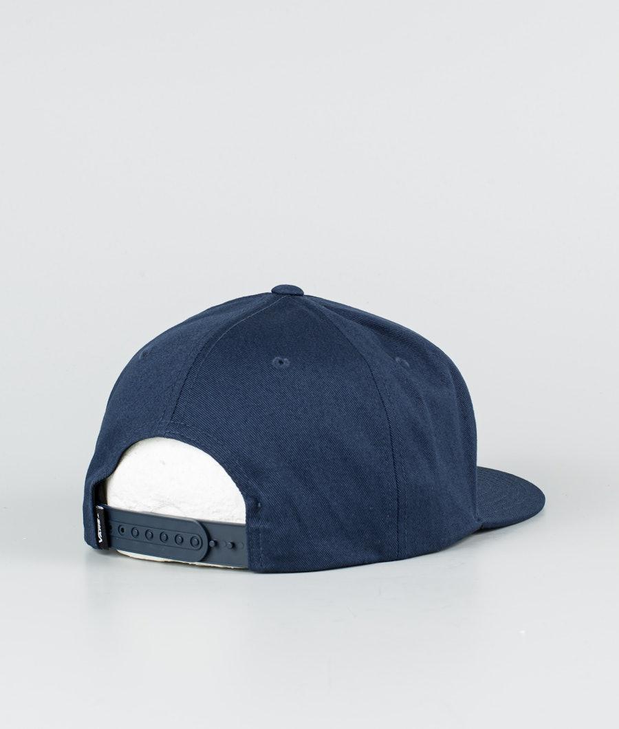Vans Logo Pack Snapback Cap Dress Blues
