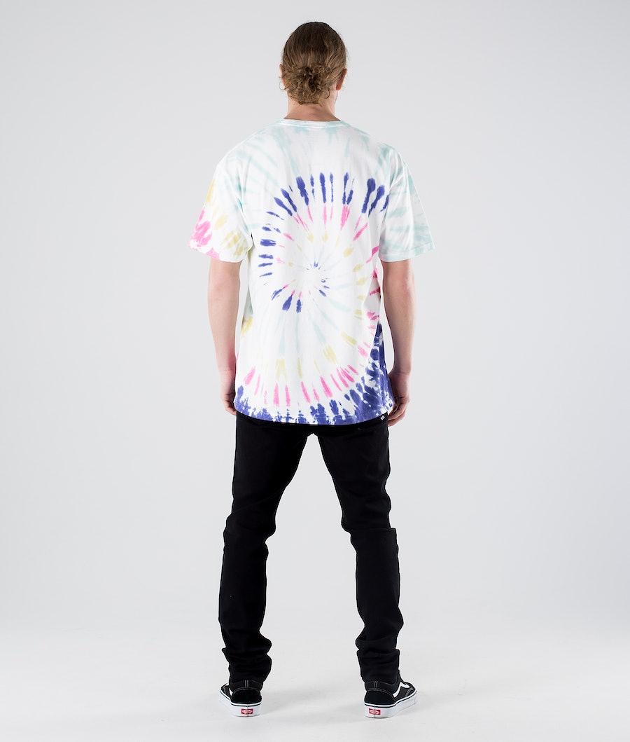 Vans Drop V Spiral Tie Dye T-shirt Rainbow (Spectrum)Tie Dye