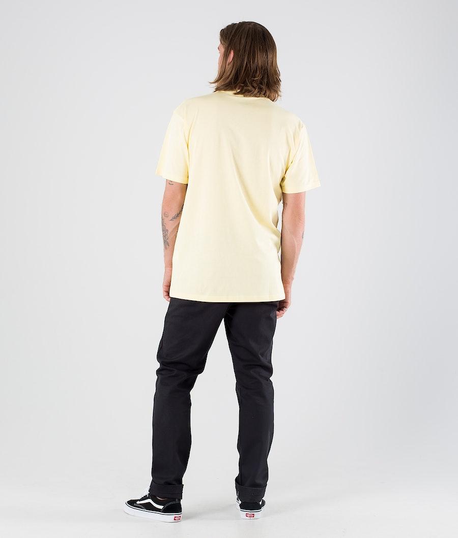 Vans Left Chest Logo T-Shirt Mellow Yellow