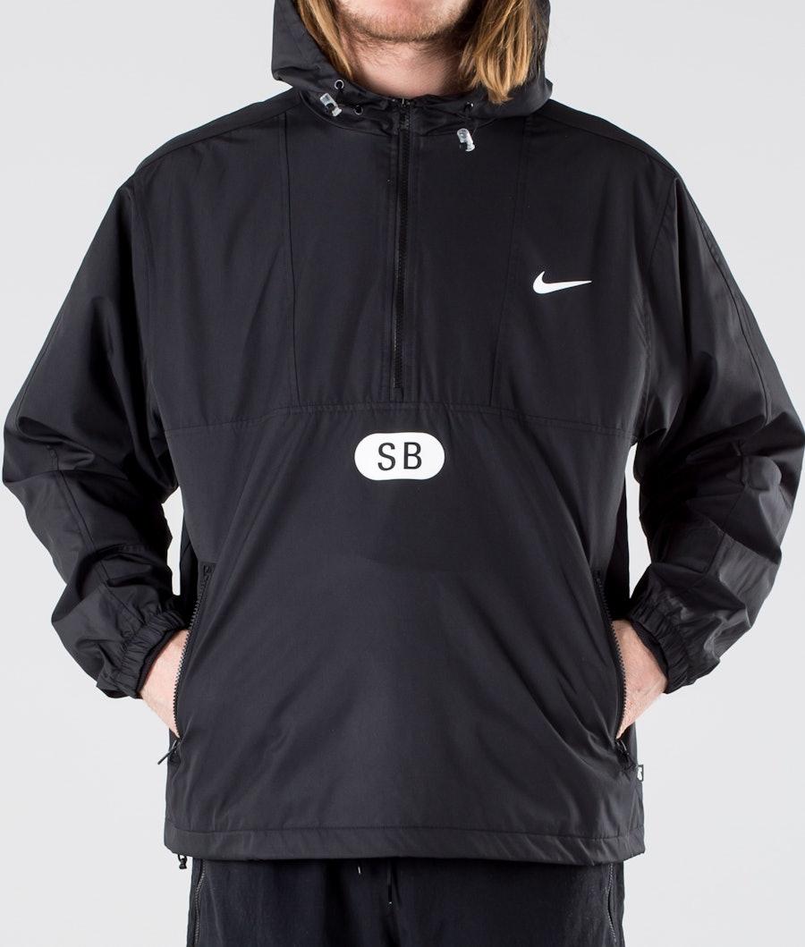 Nike SB March Radness Anorak Jacket Black/Black/Black/White