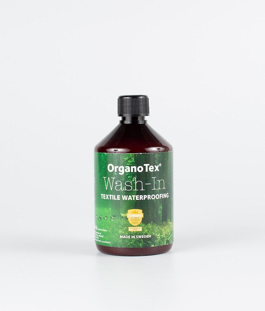 Organo Tex Wash In Textile Waterproofing 500ml Other Black
