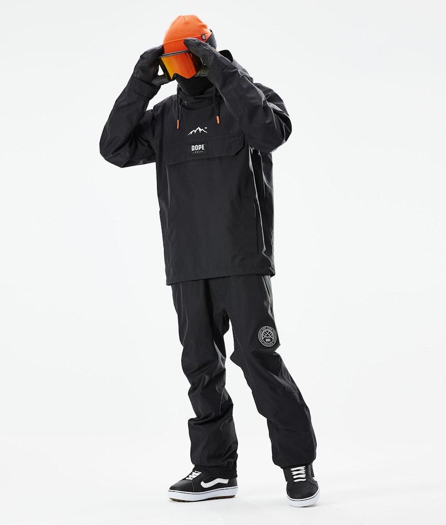Dope Blizzard PO Snowboard Jacket Black