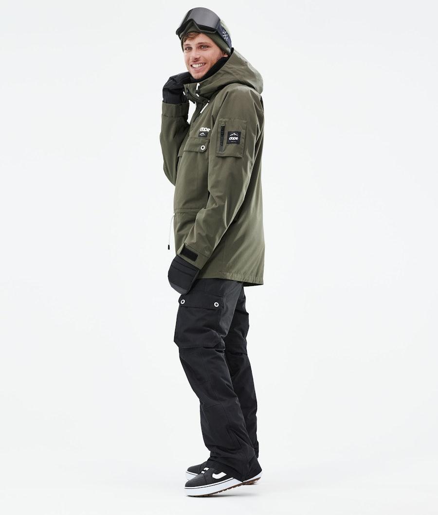 Dope Annok Snowboardjacka Olive Green