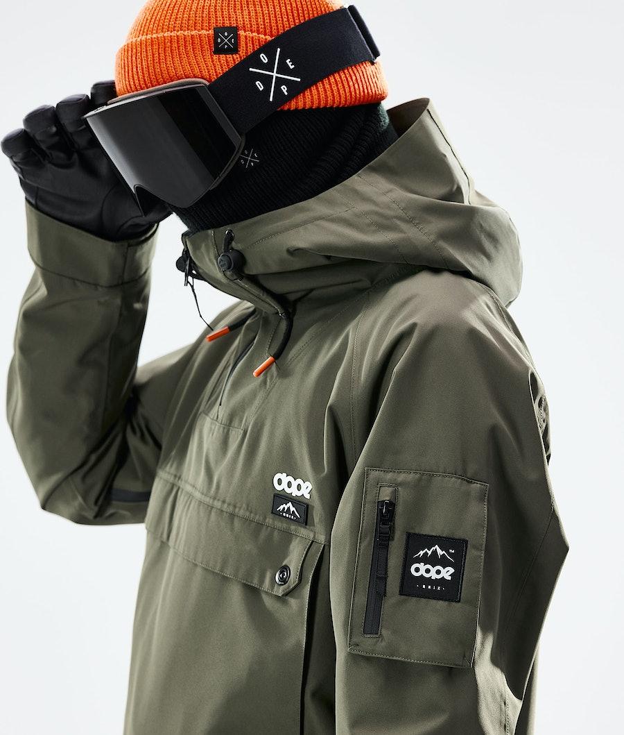 Dope Annok Snowboardjacka Olive green/ Black