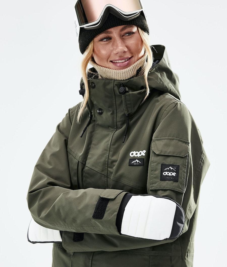 Dope Adept W Snowboardjacke Damen Olive Green