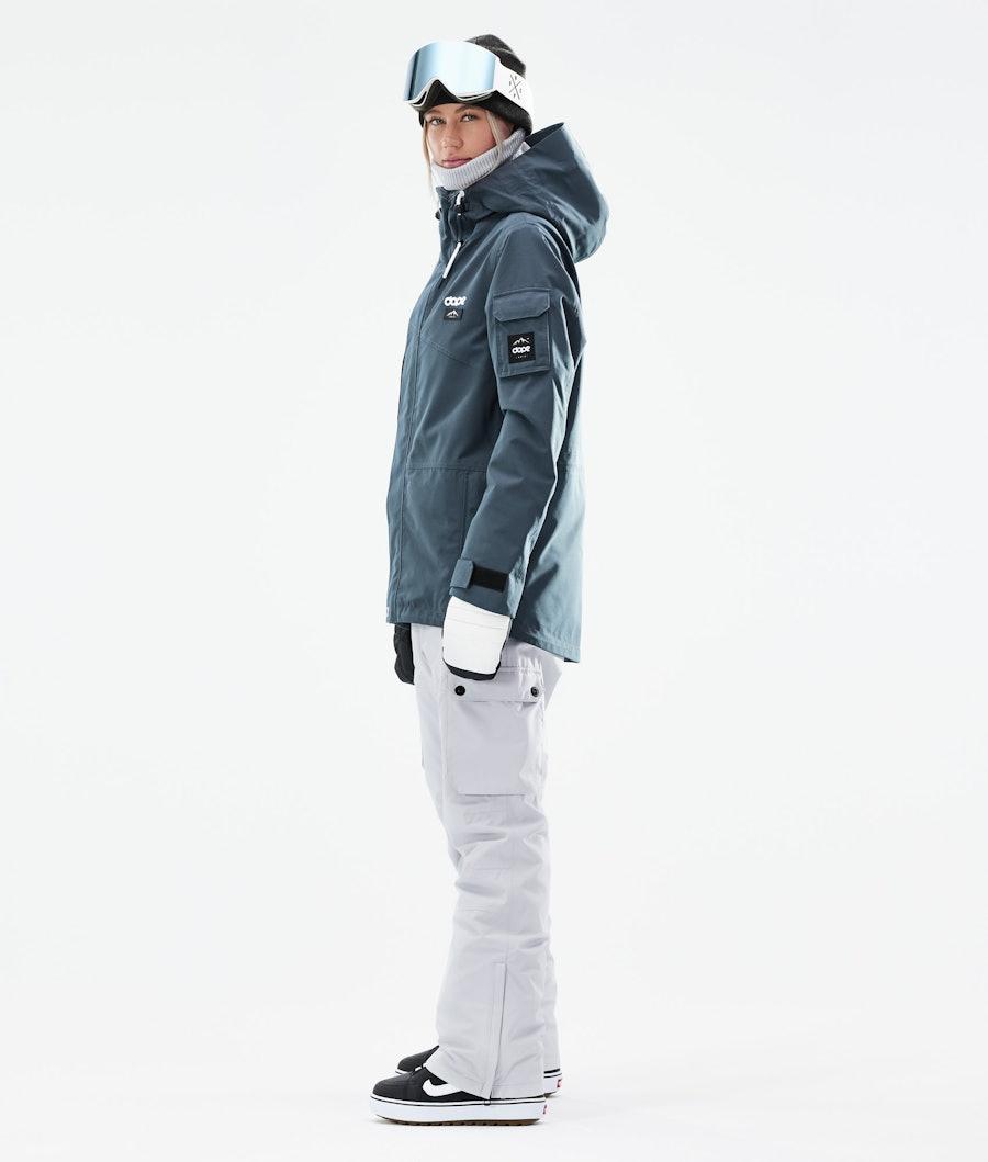 Dope Adept W Snowboardjacke Damen Metal Blue