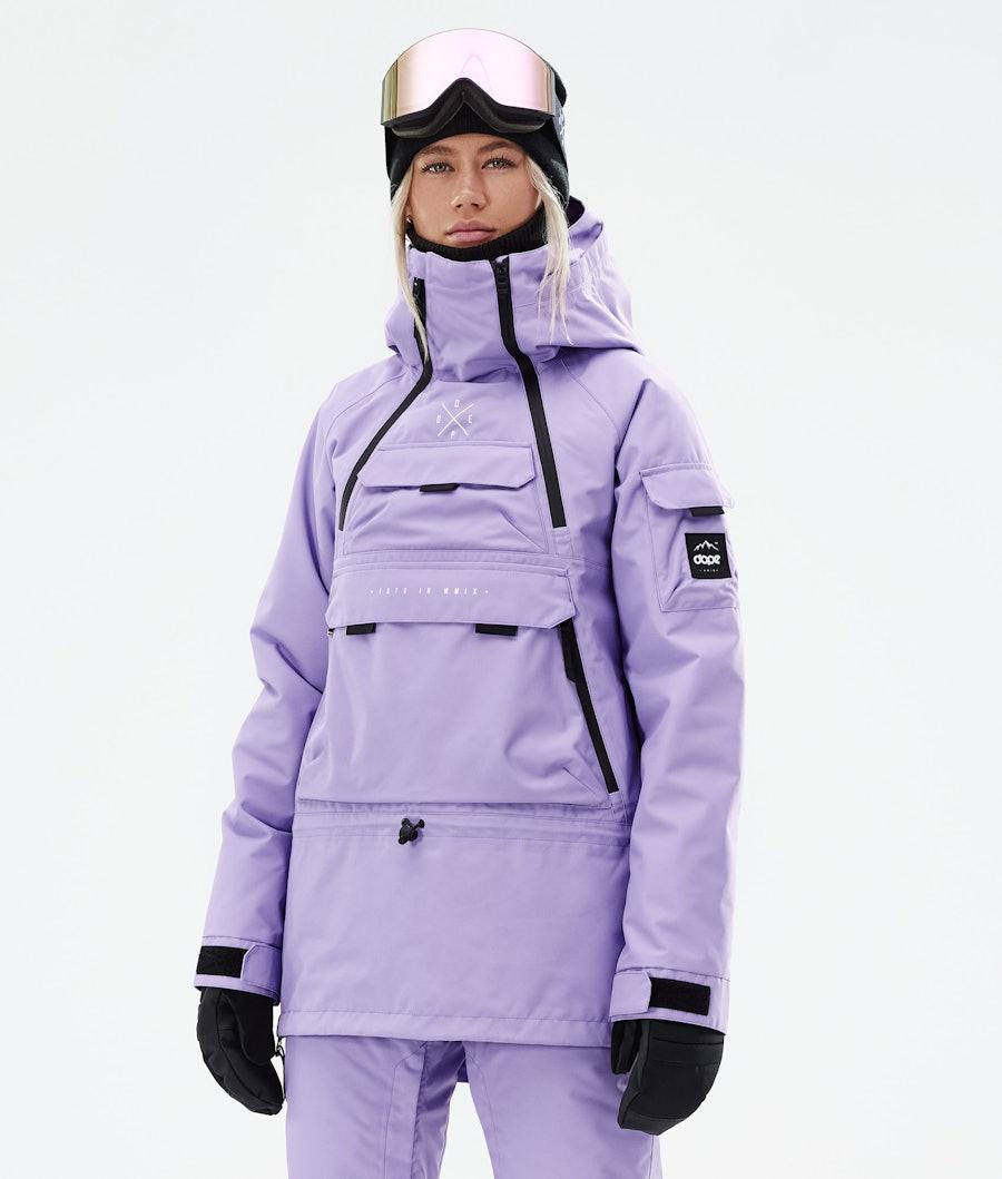 Dope Akin W Ski Jacket Faded Violet