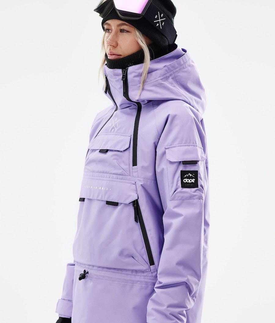 Dope Akin W Snowboardjacka Dam Faded Violet