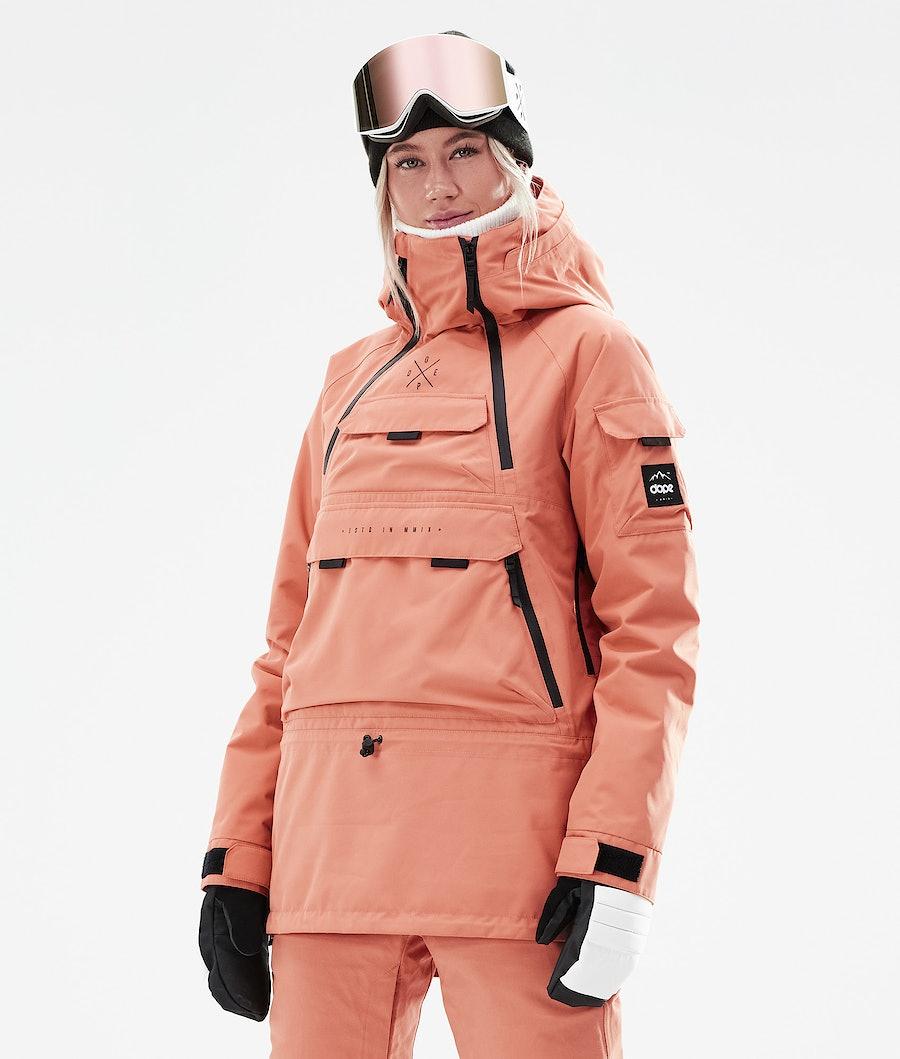 Dope Akin W Ski Jacket Peach