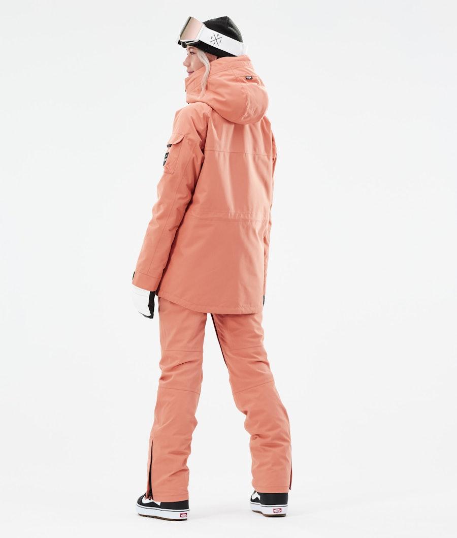 Dope Akin W Snowboardjacke Damen Peach