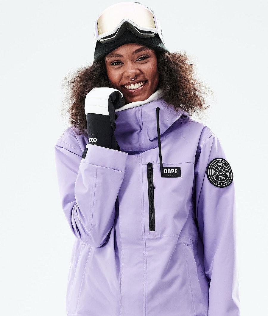 Dope Blizzard FZ W Women's Snowboard Jacket Faded Violet