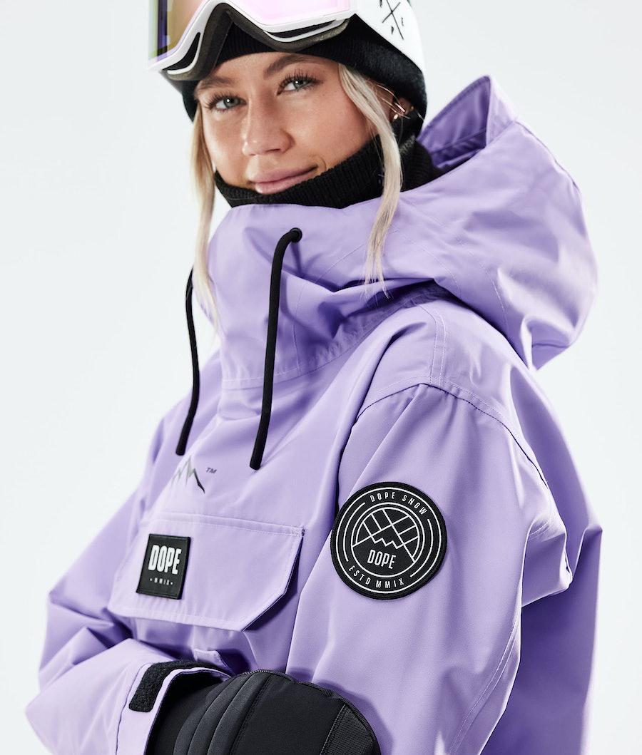 Dope Blizzard PO W Snowboardjacka Dam Faded Violet