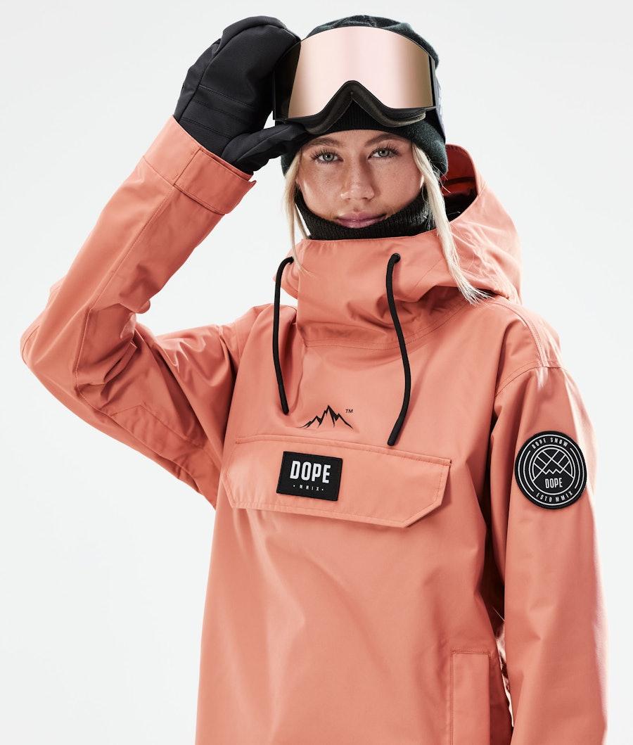 Dope Blizzard PO W Snowboardjacke Damen Peach
