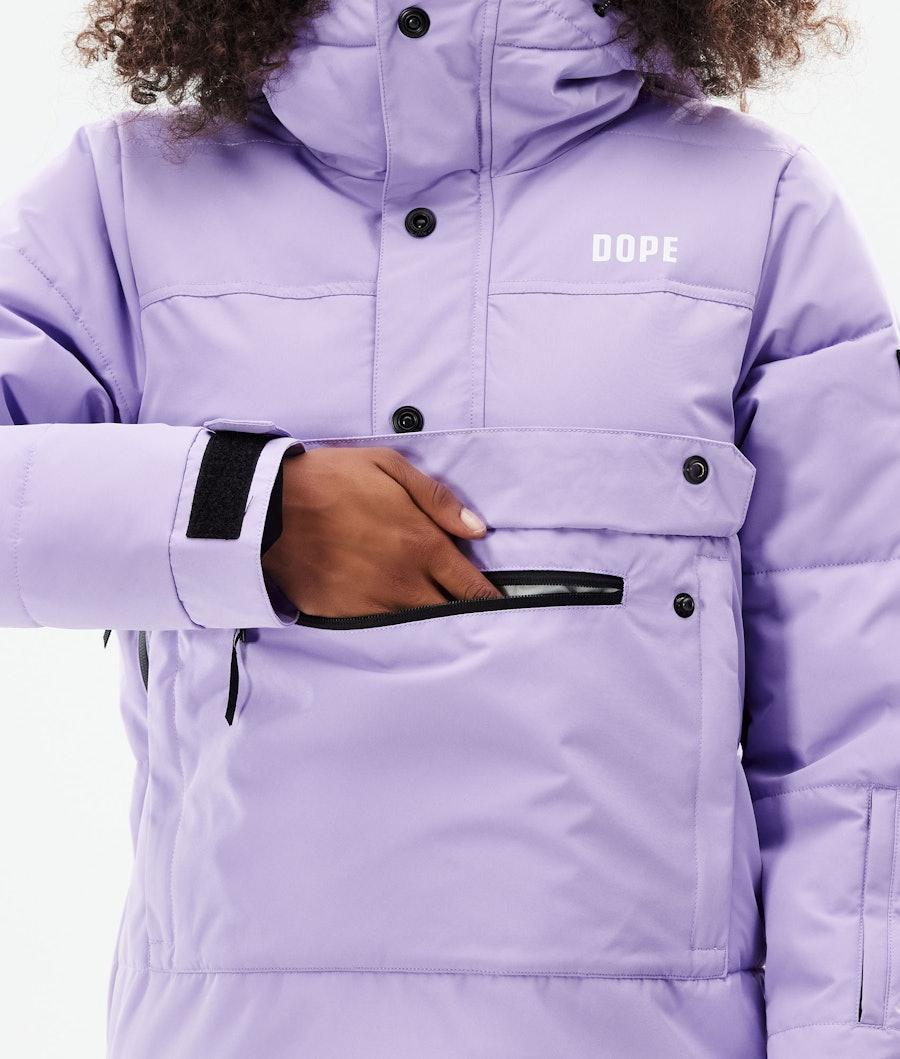 Dope Puffer W Snowboardjacke Damen Faded Violet