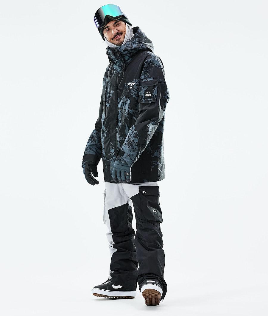 Dope Adept Snowboardjacka Paint Metal Blue