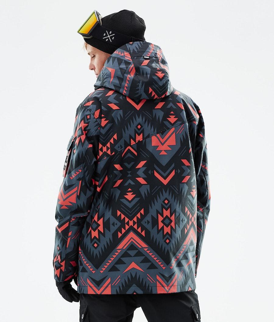 Dope Adept Snowboardjacka Cojiba Metal Blue