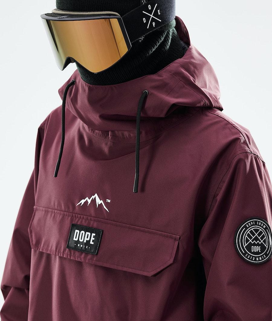 Dope Blizzard PO Skijacke Burgundy
