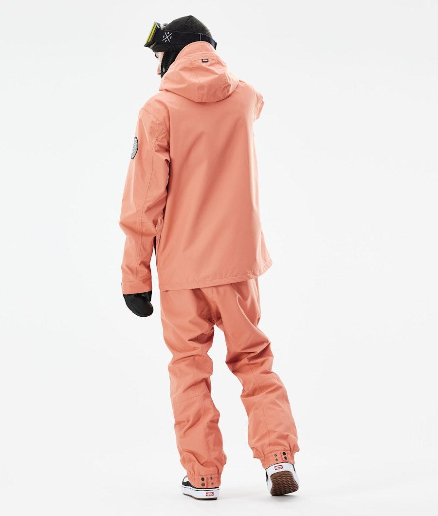Dope Blizzard PO Snowboard Jacket Peach