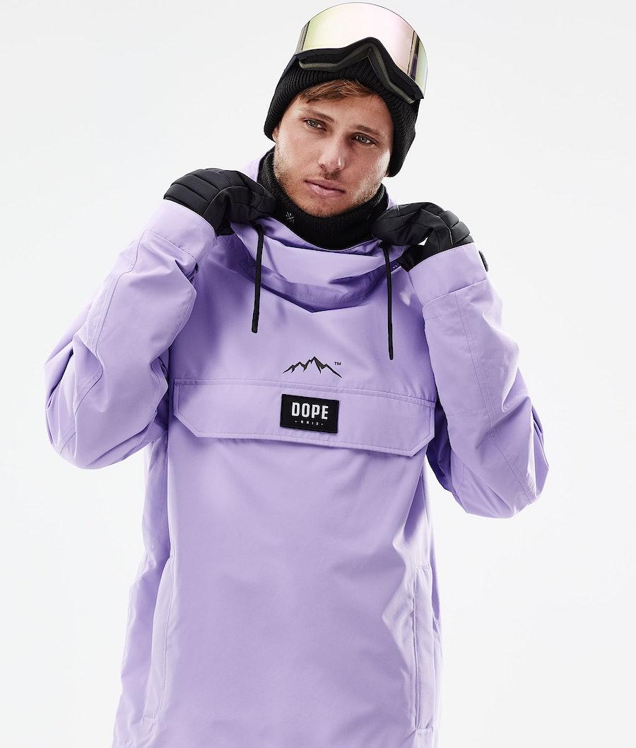 Dope Blizzard PO Snowboard Jacket Faded Violet