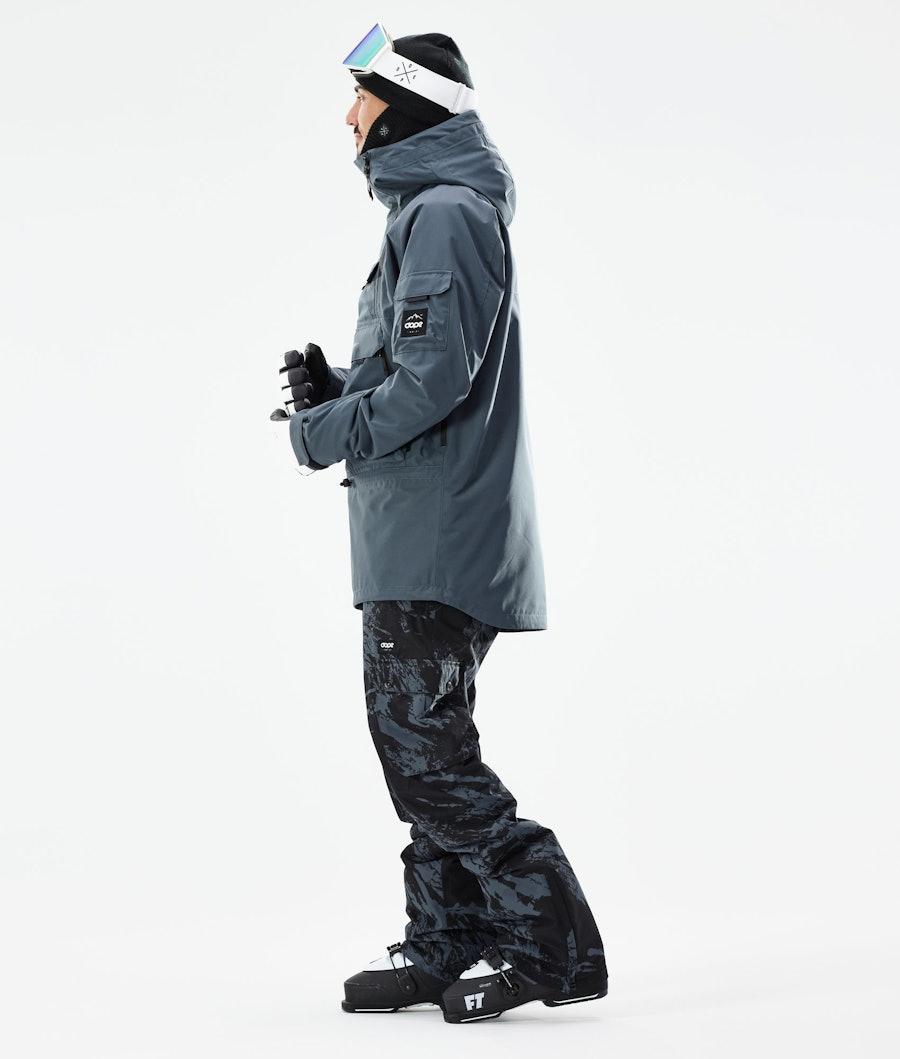 Dope Akin Skijakke Metal Blue