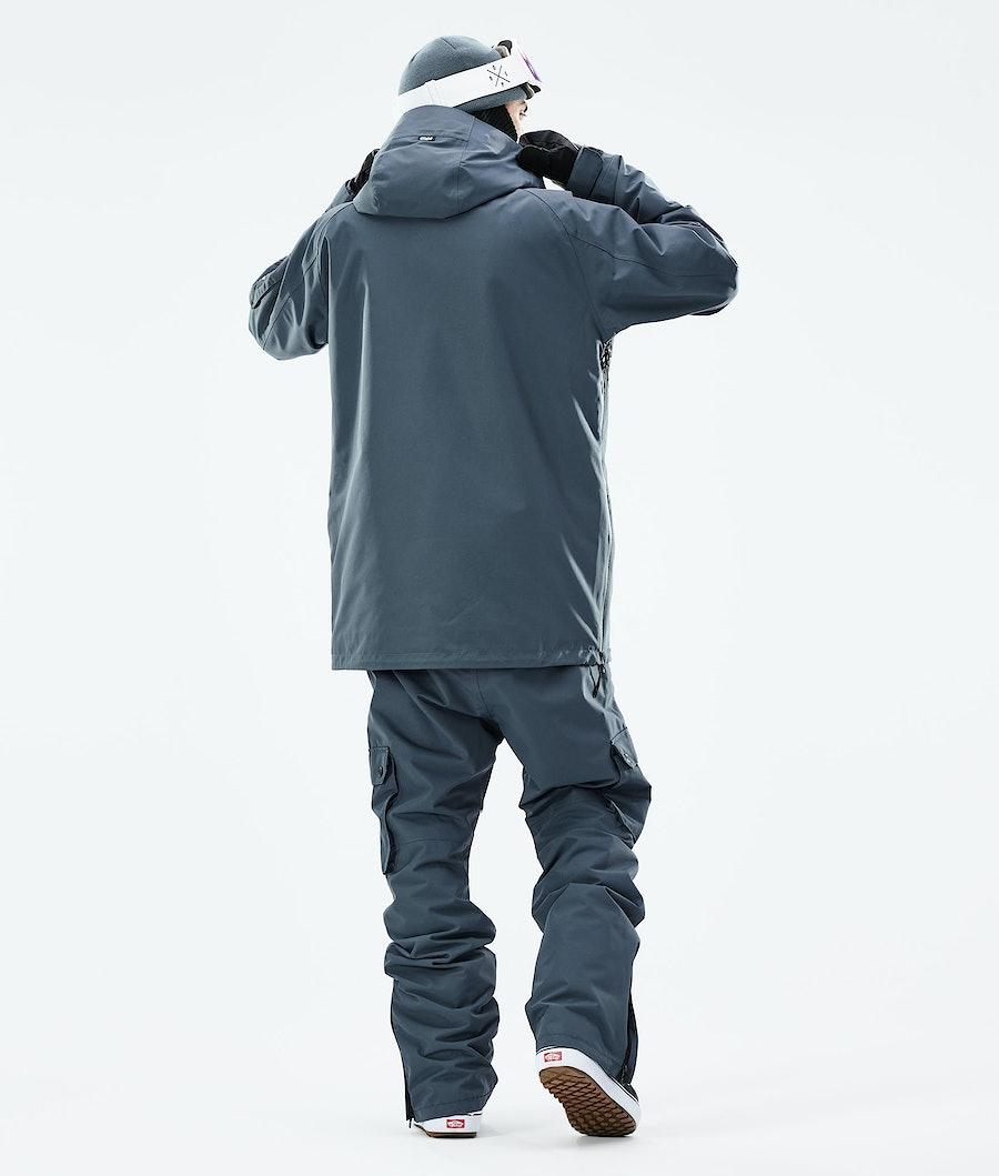 Dope Annok Snowboardjacka Metal Blue