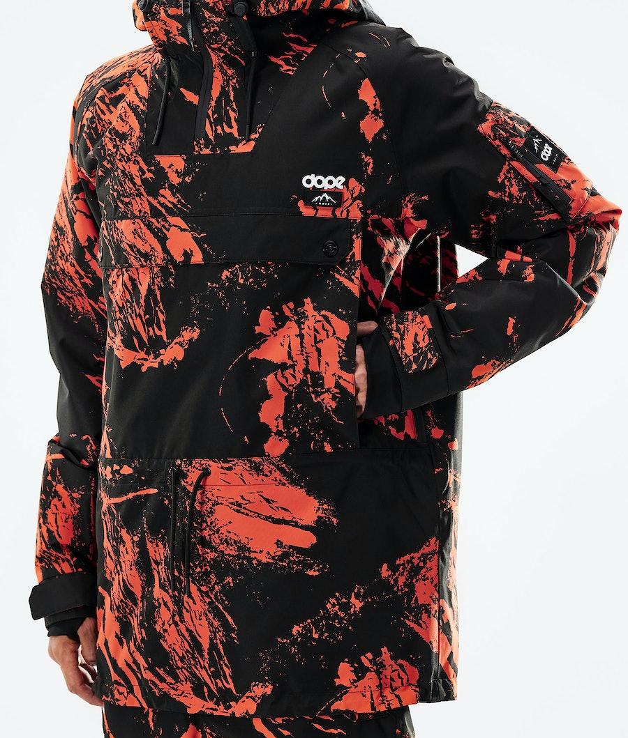 Dope Annok Snowboardjacka Paint Orange