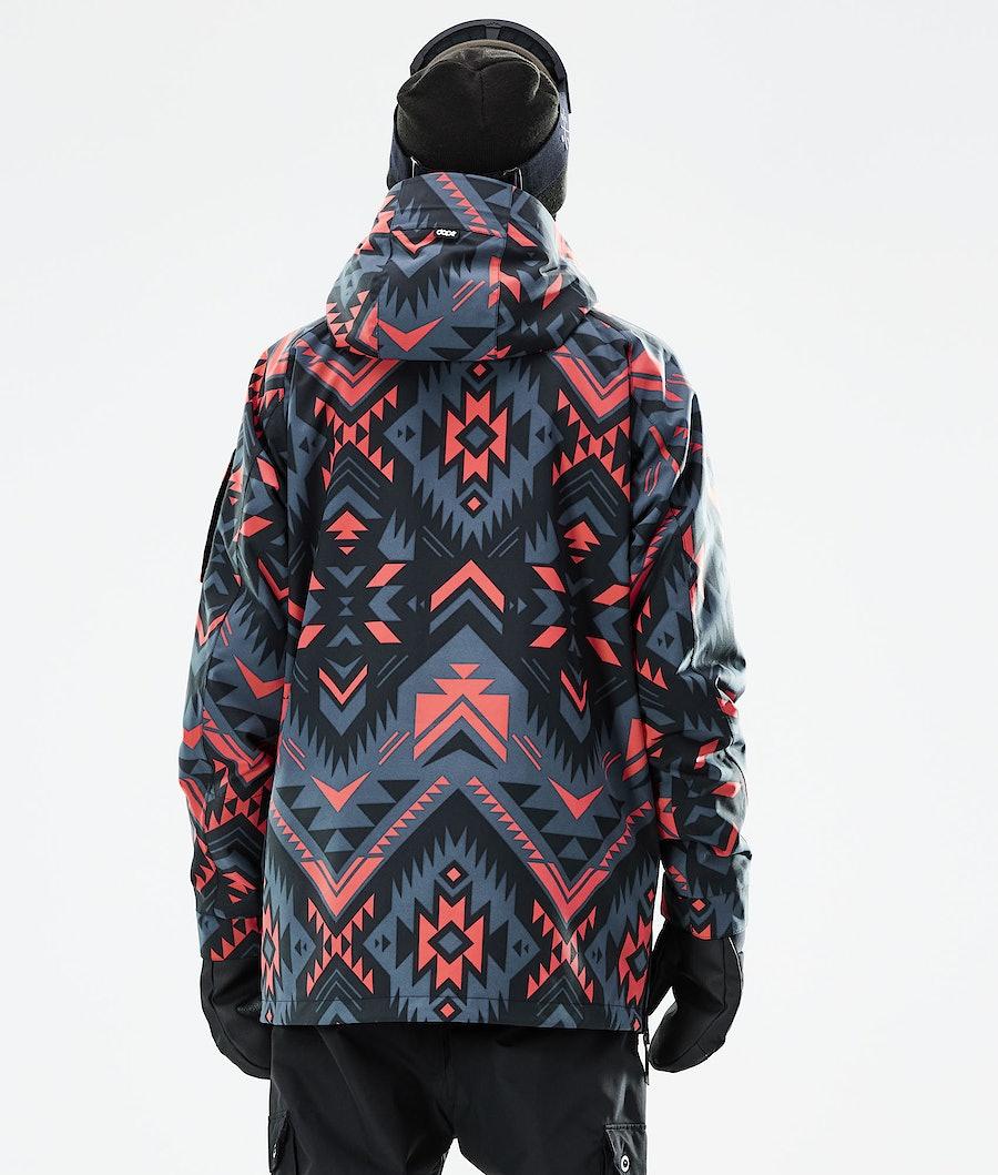 Dope Annok Snowboard Jacket Cojiba Metal Blue