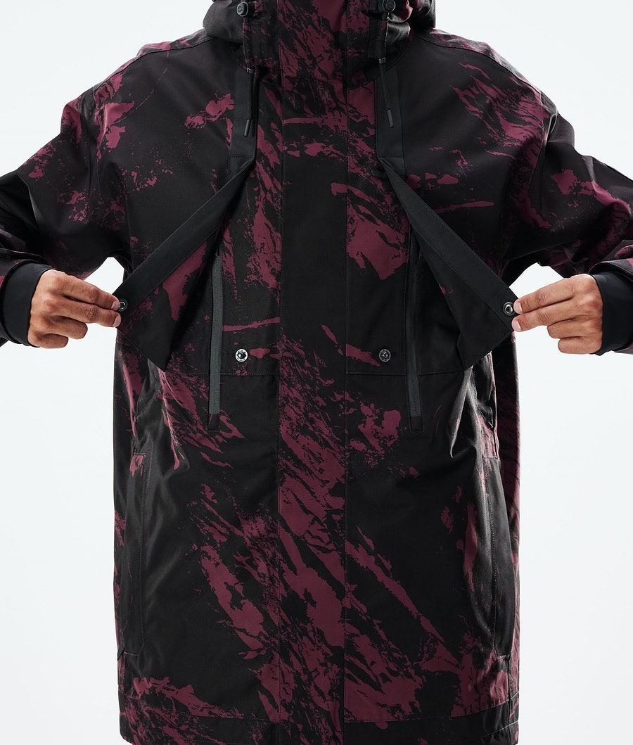 Dope Mojo Snowboardjacka Paint Burgundy