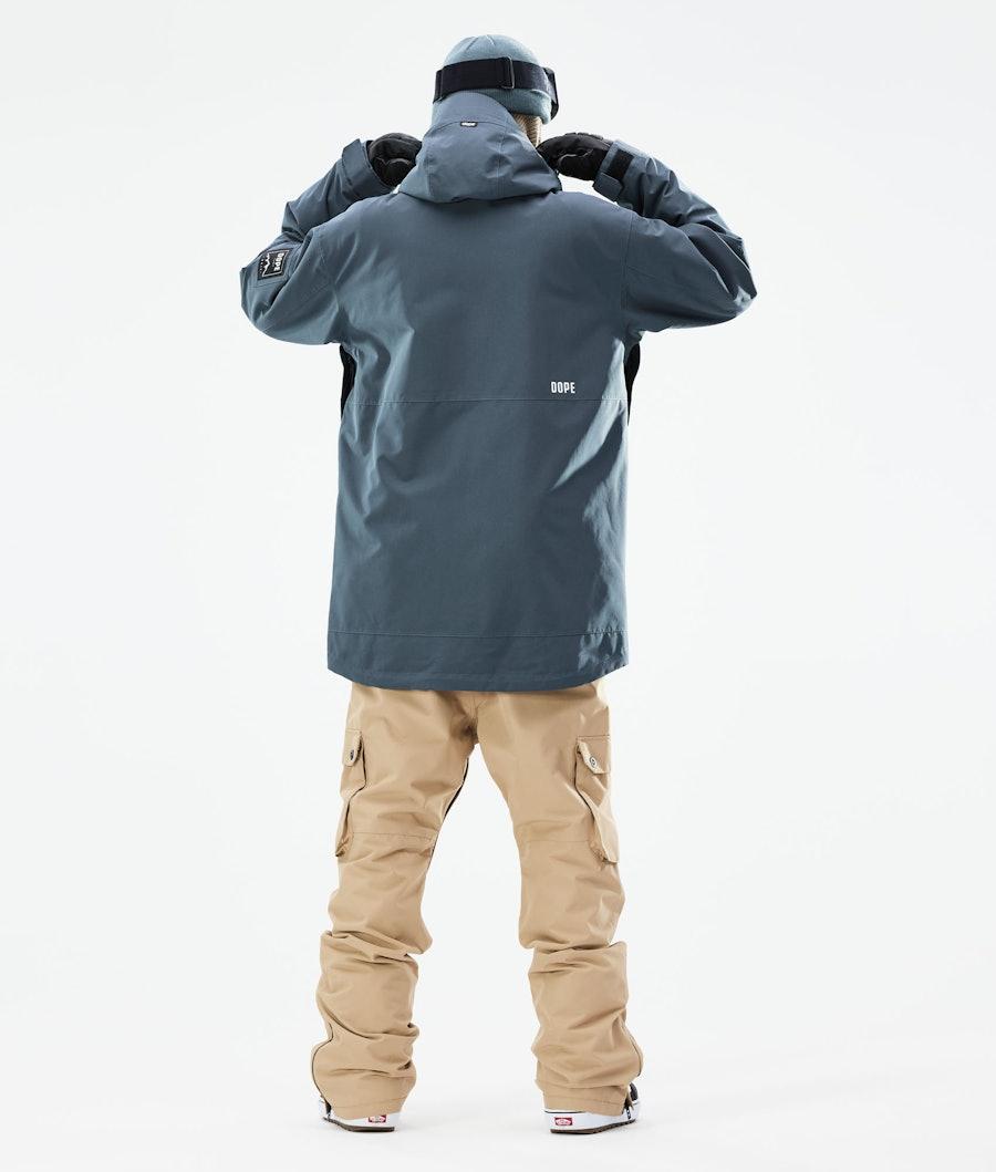 Dope Mojo Snowboard Jacket Metal Blue