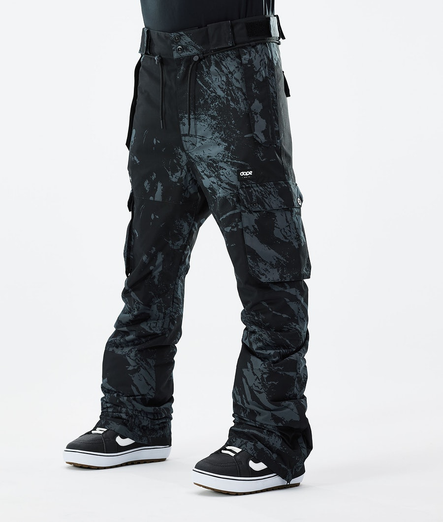 Dope Iconic Snowboard Pants Paint Blue Metal