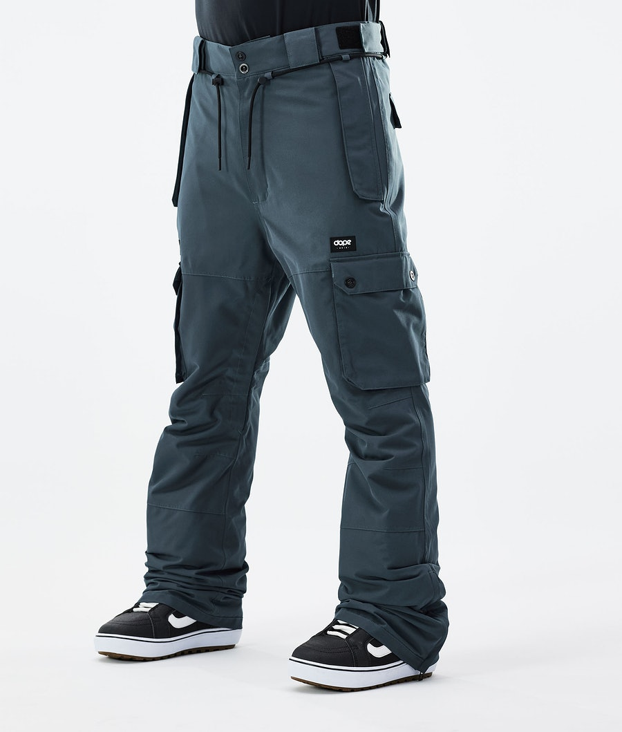 Dope Iconic Snowboard Pants Metal Blue