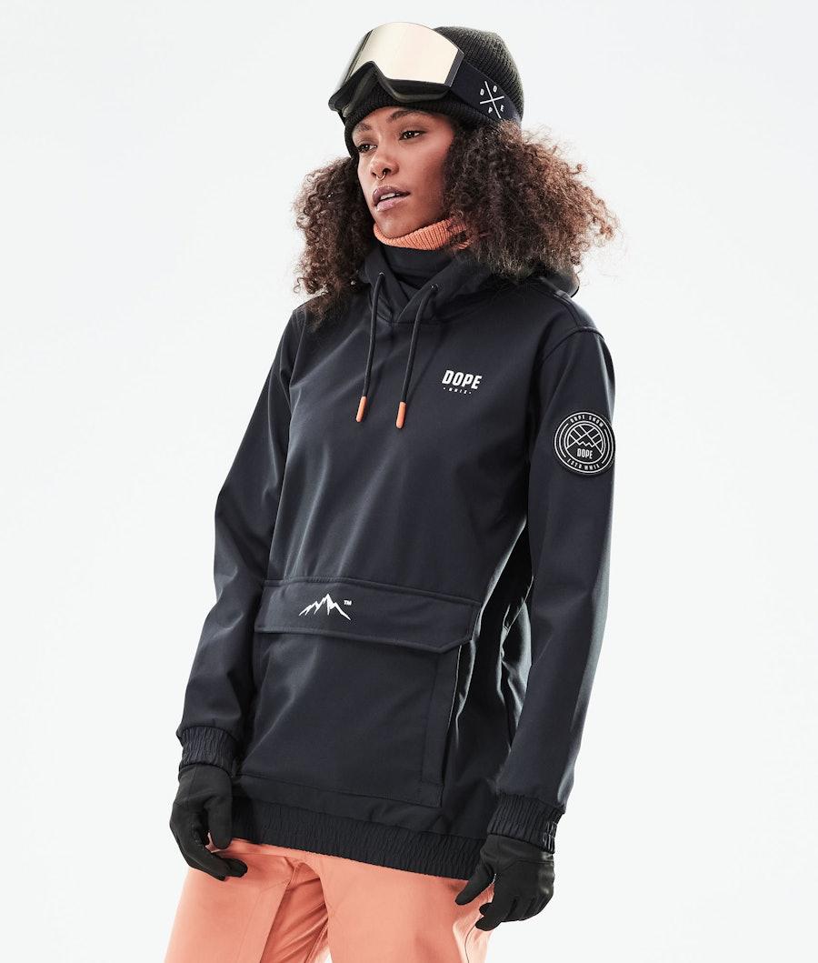 Dope Wylie W Skijakke Women's Black