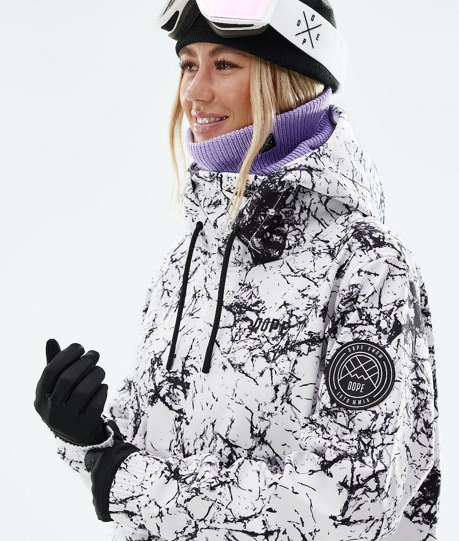 Dope Wylie W Women's Snowboard Jacket Rock