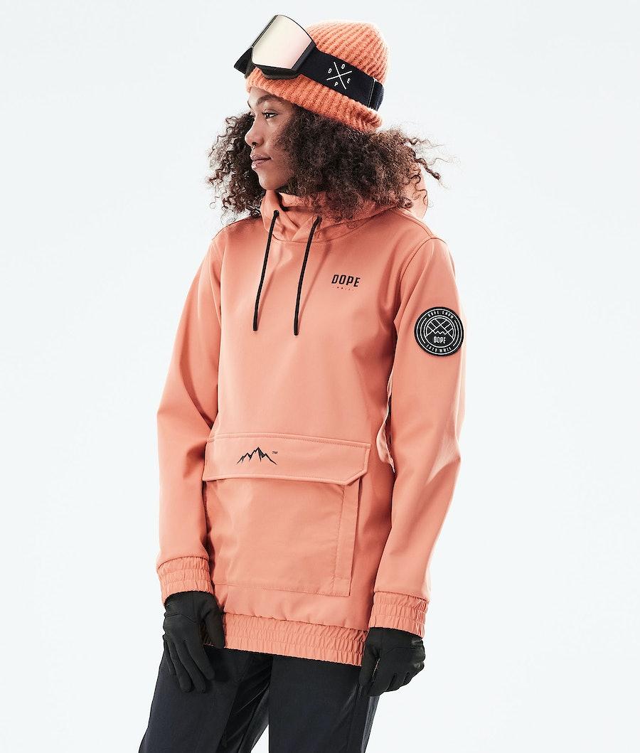 Dope Wylie W Skijakke Peach
