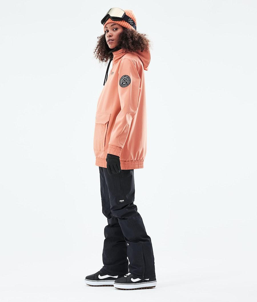 Dope Wylie W Snowboardjacka Dam Peach