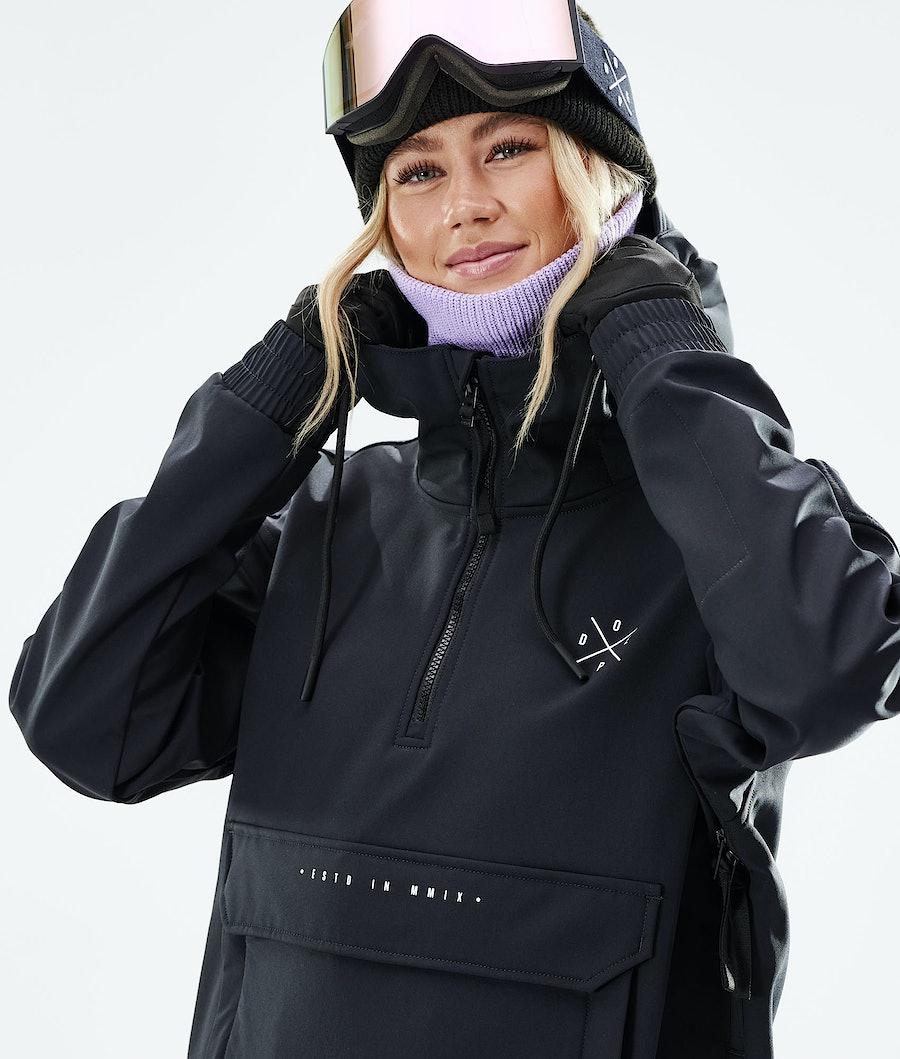 Dope Cyclone W Skijakke Women's Black