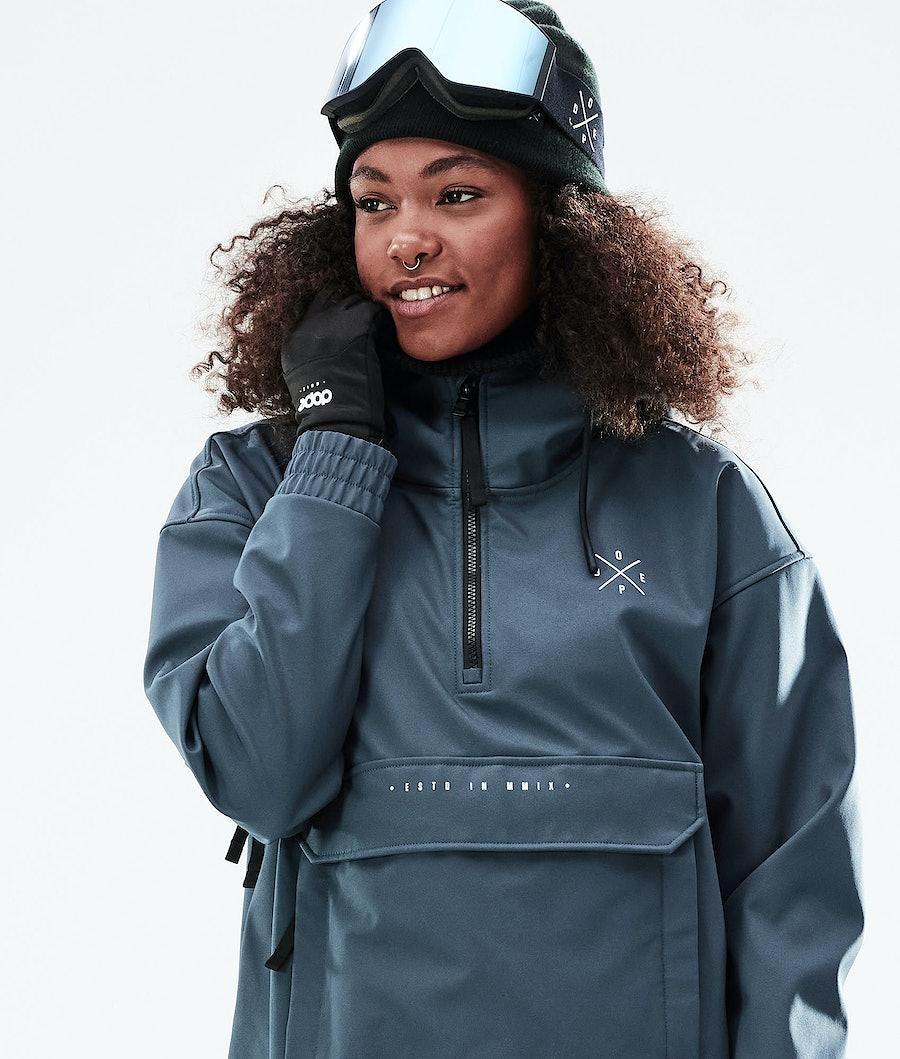 Dope Cyclone W Snowboardjacke Damen Metal Blue