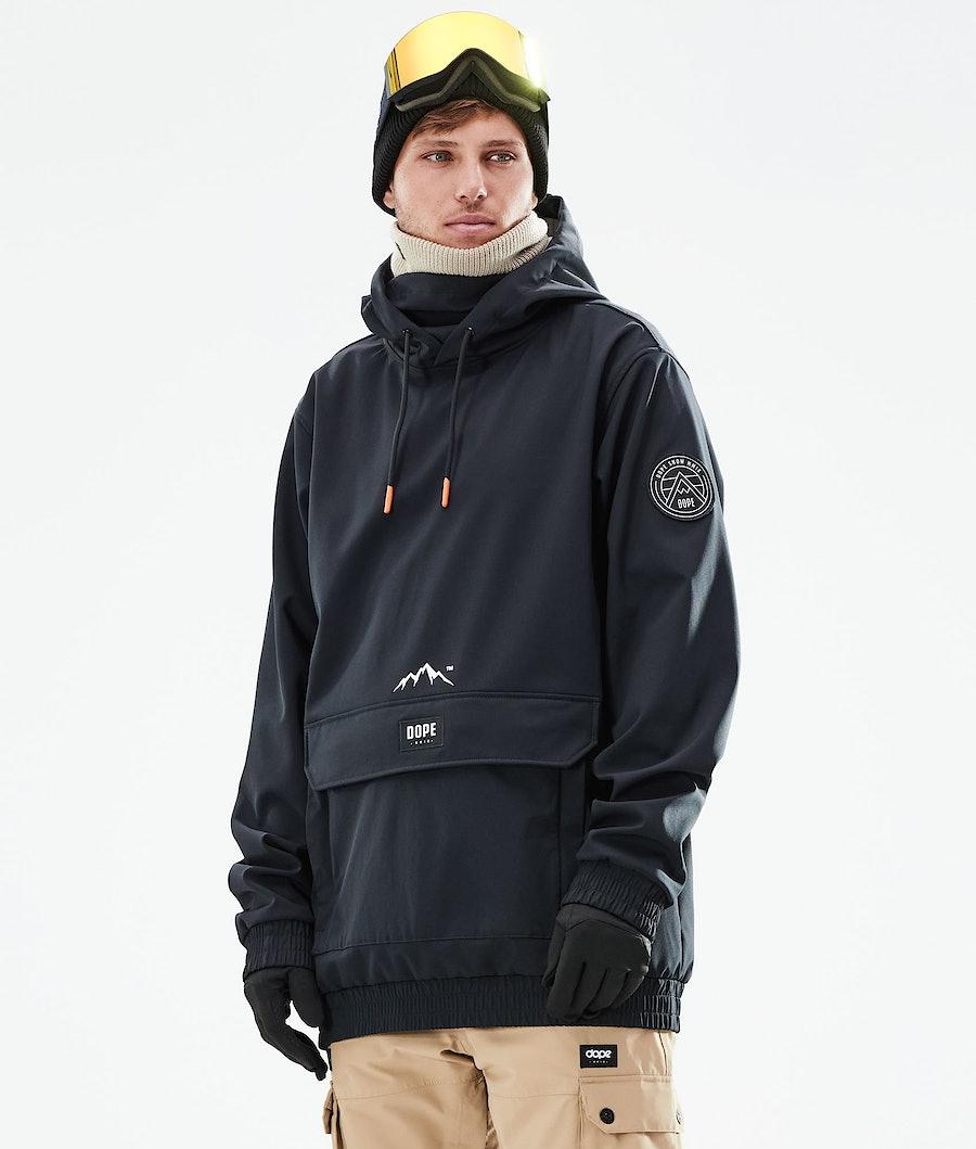 Dope Wylie Skijacke Black