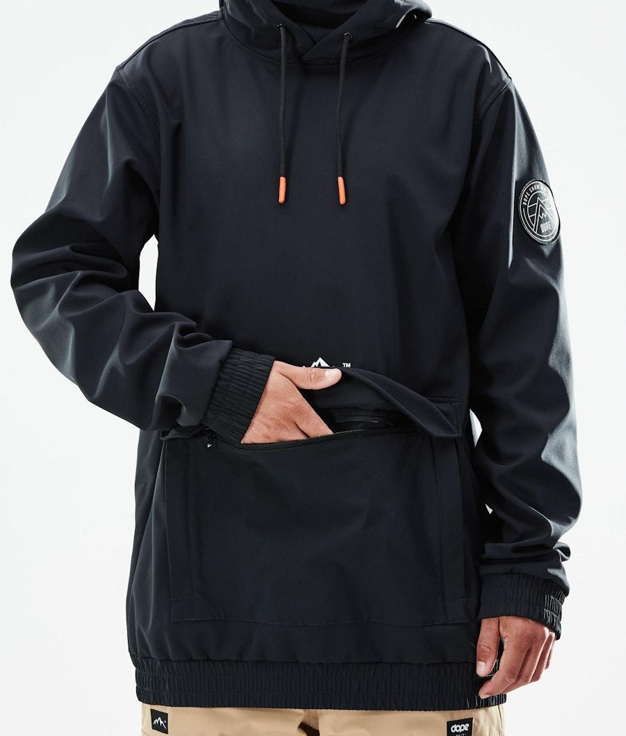 Dope Wylie Snowboard Jacket Black