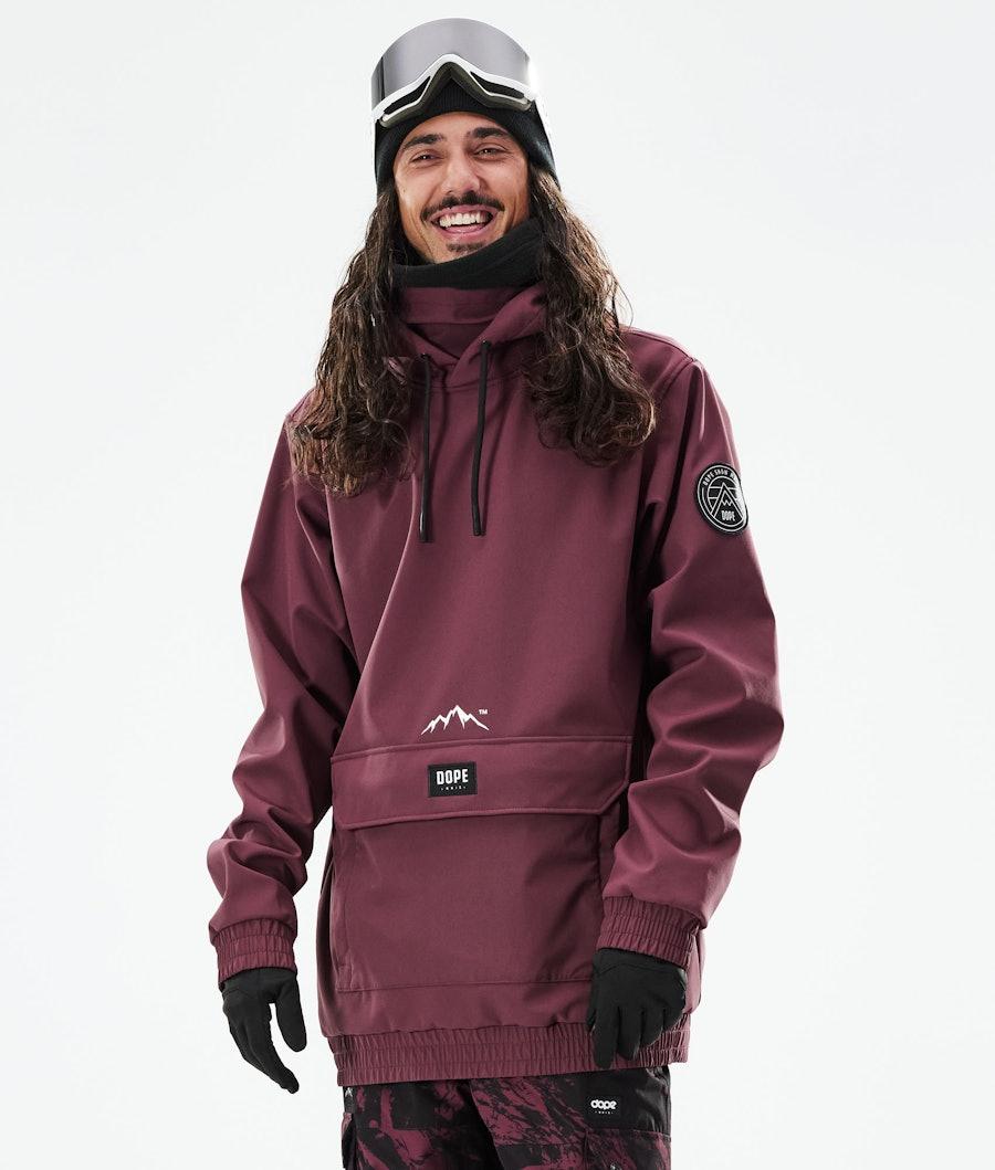 Dope Wylie Skijacke Burgundy