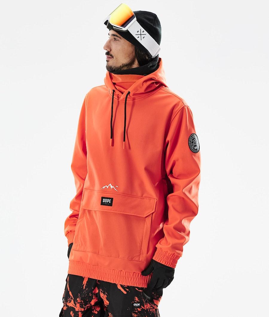 Dope Wylie Skijacke Orange