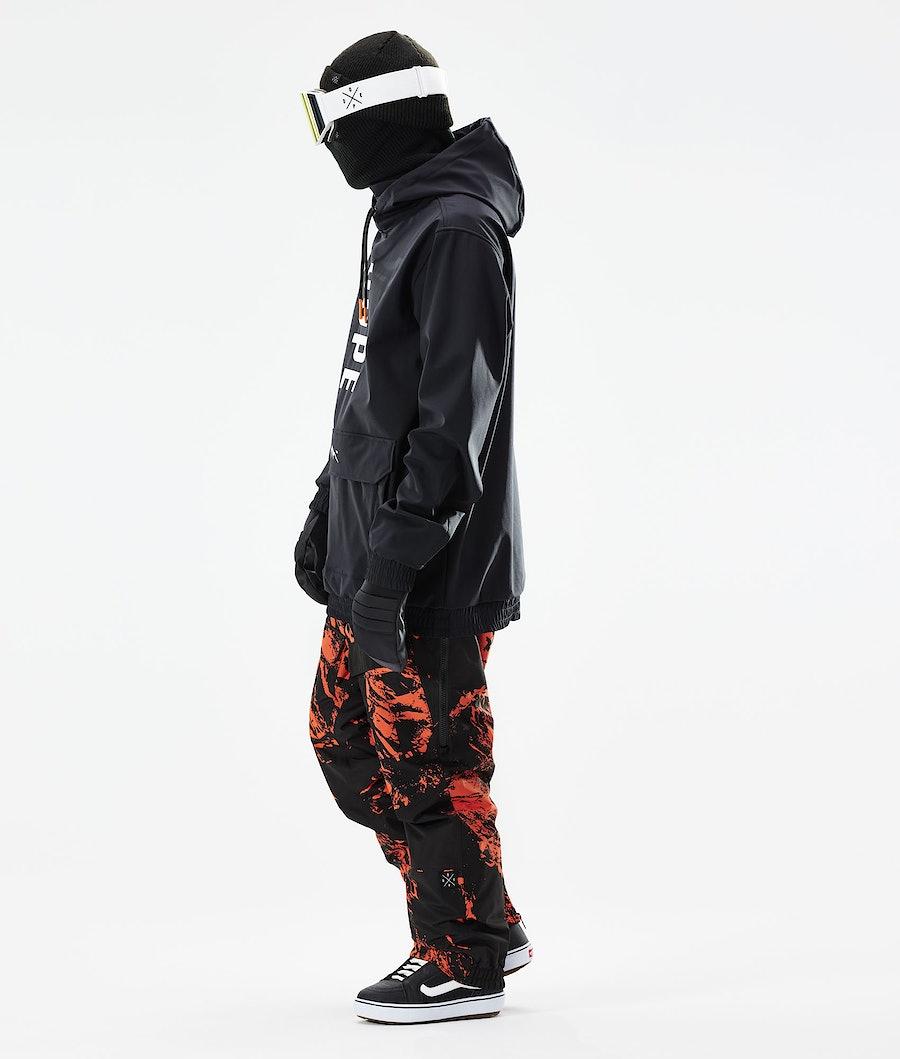 Dope Wylie Snowboardjacka Black