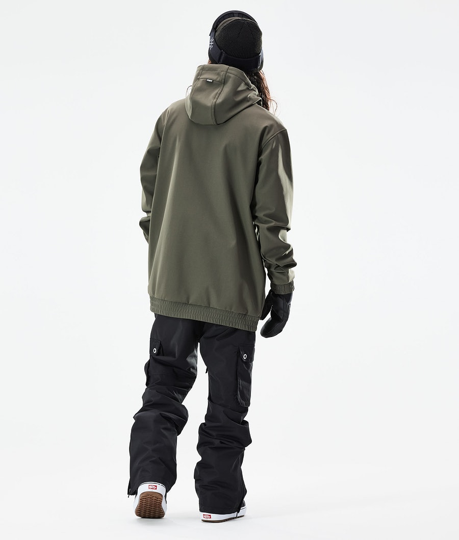 Dope Wylie Snowboard Jacket Olive Green
